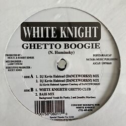 """White Knight """"Ghetto Boogie"""" 12"""" Mint Still Factory Sealed  $14.99"""