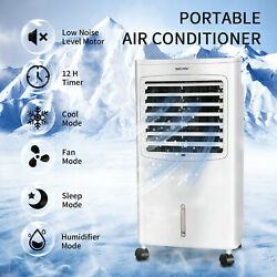 8L Air Cooling Fan Portable Air Conditioner Cooler Evaporative Water Humidifier $39.99