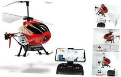 U12S Mini RC Helicopter with Camera Remote Control Helicopter for Kids and Red $77.80