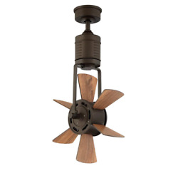 Windhaven Outdoor Ceiling Fan Oscillating Paddle Remote Control 20quot; Espresso Bro