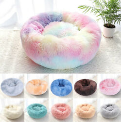 Orthopedic Soft Calming Pet Bed Anti Anxiety for Small Medium Large Dogs Cats $10.59