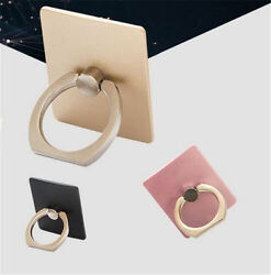 New Cute For Tablet Phone Fashion Finger Ring Sticky Stand Holder random color $0.99