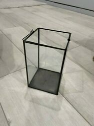 Glass Lanterns Wedding Centerpieces. Lightly Used. 4.5quot;D x 7.5quot;H. $12.00