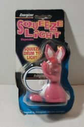Energizer Bunny Squeeze Light Flashlight In Original Packaging $9.82