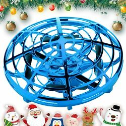 SHWD UFO Drones for Kids Hand Operated Mini Drone Child Kids Drone with Leds $9.95