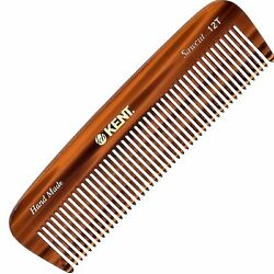 Kent 12T 5quot; Handmade Comb Medium Size for Thick Coarse Hair. Saw cut $12.00
