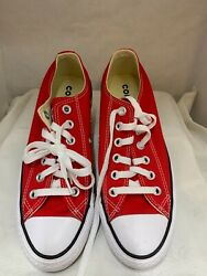 CONVERSE ALL STAR WOMENS SIZE 6.5 RED SNEAKERS GOOD CLEAN CONDITION $22.50