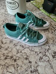 Green Teal Adidas Shoes $30.00
