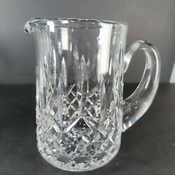 Vintage WATERFORD Lismore Crystal 6 1 2quot; Water Pitcher Made in Ireland EXCELLENT $69.99