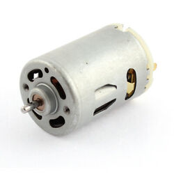 3mm Shaft Dia DC 12V 5500RPM Speed 2 Terminal Electric Magnetic Micro Motor $15.85