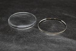 Plexi Glass Crystal with Tension Ring for Seiko Worldtime 6117 6400 6117 6409 $24.99