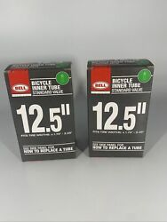 Lot Of 2 BELL Standard Valve 12.5quot;x 1.75 2.25quot; Bicycle Inner Tubes Kids Bike $3.99