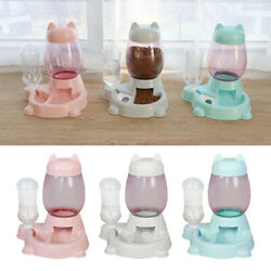 Automatic Gravity Pet Feeders Cat Dog Water Dispenser Drinking Fountains $19.72