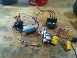 rc motor and esc $79.99