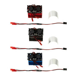 RC Car Motor Heat Sink System RC Motor Dual Cooling Fan for 1 8 RC 40 43mm $12.91