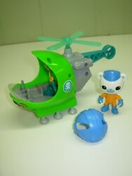 Octonauts GUP – H HELICOPTER with CAPTAIN BARNACLES Nice $39.99