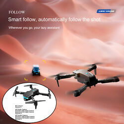 Foldable Drone 4 Axis Gimbal Dual Camera Long Distance Quadcopter $33.81