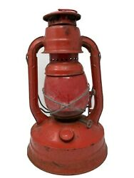 Dietz Lantern NY USA No.100 Red Vintage Rustic Country Railroad $50.00