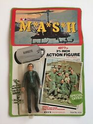 """M.A.S.H 4077 3 3 4 inch Action Figure """"Hawkeye"""" New Factory Sealed $36.99"""