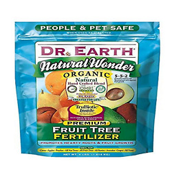 Dr. Earth 708P Organic 9 Fruit Tree Fertilizer In Poly Bag 4 Pound $15.64