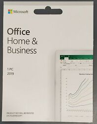 Microsoft Office Home and Business 2019 1PC 1 User Key Card $97.99
