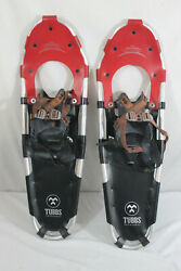 TUBBS Snowshoes Discovery 30 Metal Claw Red and Black 30quot; VGUC $69.99