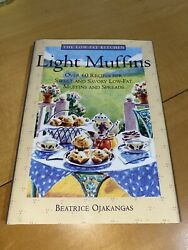 Vintage 1995 Light Muffins Low Fat Kitchen Cookbook Recipes Cooking Cook Book $29.99