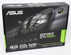 NEW ASUS GeForce GTX 1050 Ti 4GB GDDR5 Gaming Graphics card Fast 2 Day Shipping $229.99