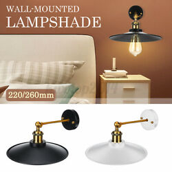 Wall mounted Hanging Lampshade Cover Plug In Light Shade with Swing Arm Bar Home $14.31