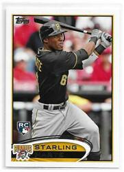 2012 Topps Update STARLING MARTE Rookie RC Pittsburgh Pirates Oakland A#x27;s $5.99
