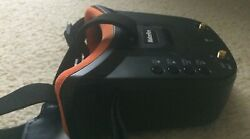 Makerfire mini fpv goggles 5.8G 40 channel auto searching build in battery $35.00
