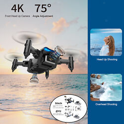 KY906 Mini Foldable Drone 4K RC Quadcopter Easy Fly for Beginners Kid#x27;s Toys $31.53