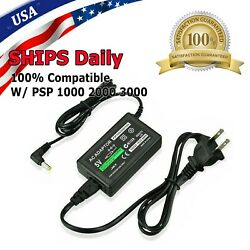AC Adapter Home Wall Charger Power Supply For Sony PSP 1000 2000 3000 Slim Lite $5.49