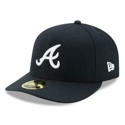 ATLANTA BRAVES NEW ERA 59FIFTY LOW PROFILE FITTED $24.95