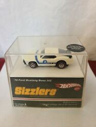 Hot Wheels Sizzlers 70 mustang boss 303 2007 Target Exclusive In Sealed Package $35.00
