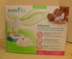 Evenflo Advanced Double Electric Breast Pump Closed System OPEN BOX READ $33.95