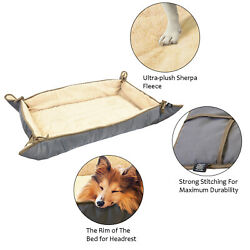 Pet Large Dog Bed Cat Mat Soft Cushion Pad Reversible Water Resistant Washable $21.99