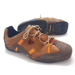 Timberland Mens 13 M Brown Smart Comfort Leather Outdoor Sneaker Shoes 71504 $35.67