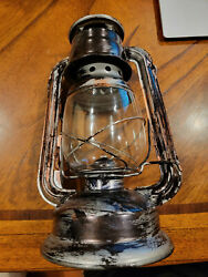 Light up Old Lantern with LED Party Light FAST FREE SHIPPING $23.74