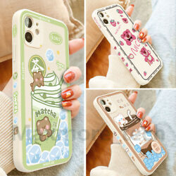 Cartoon Silicone Soft Case Cover Cute For iPhone 12 Pro Max 11 XS XR 7 8 Plus 13 $3.95