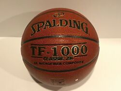 Spalding TF 1000 Official Basketball 28.5quot; Indoor Classic ZK Composite NEW $23.99