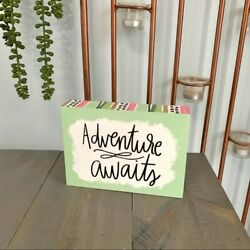 Pen amp; Paint Hobby Lobby Adventure Awaits Wooden Sign Multicolored Table Hanging $14.00