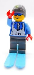 Lego Minifigure downhill cross country skier male 211 Inv 87 $3.49