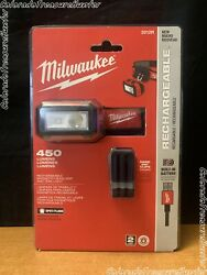 Milwaukee 2012R Rechargeable Magnetic LED Headlamp $46.98