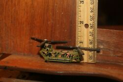 Vintage 1997 Micro Machines Mattel Hot Wheels CH 47 Chinook Helicopter $4.00