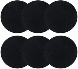 6 Pack Charcoal filters for Kitchen Compost Bins Thickening Compost Bin Filter $15.69