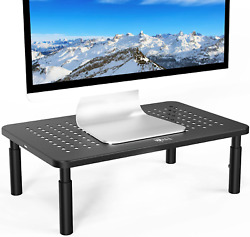 WALI Monitor Stand Riser for Computer Laptop Printer Notebook and All Flat Sc $16.81