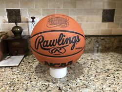 Official Rawlings 2001 NCAA Final Four Game Ball Leather Spalding Basketball $199.95