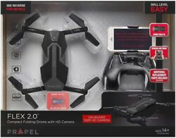 PROPEL FLEX 2.0 COMPACT FOLDING DRONE WITH HD CAMERA $29.99