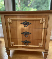 Gorgeous John Widdicomb Vintage nightstand MadeIn USA Excellent Used Condition $399.99